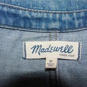 Madewell Jackets & Coats - Madewell Joshua Tree Faded Denim Jacket